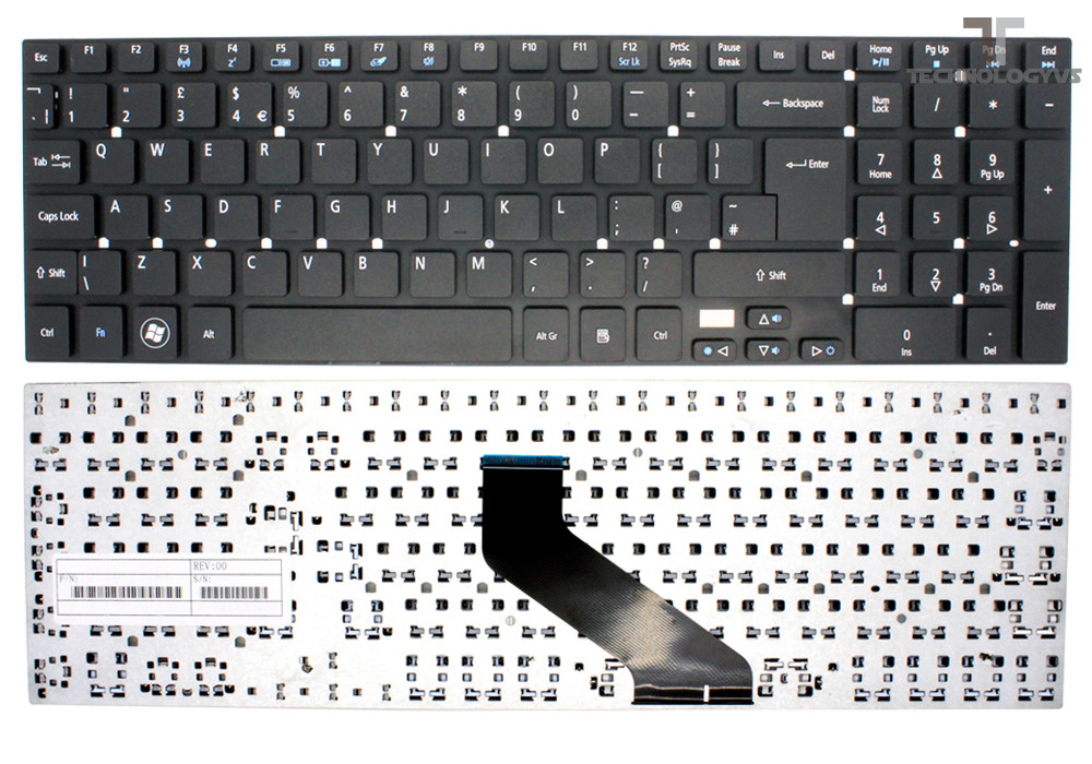 409a4685d01 NEW REPLACEMENT KEYBOARD FOR ACER ASPIRE V3 SERIES 5830 WITH SPECIAL ...